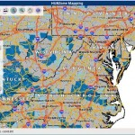Virginia HUBzone map